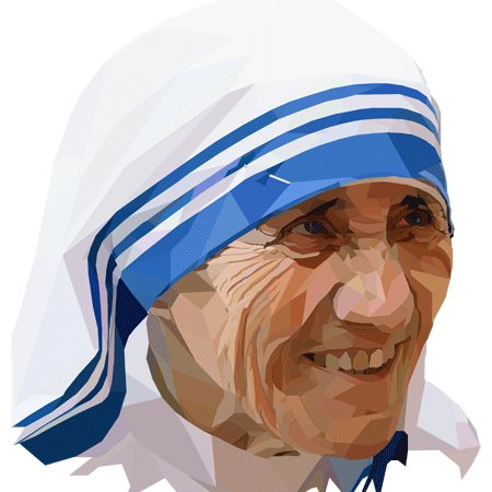 mother teresa is an isfj and famous